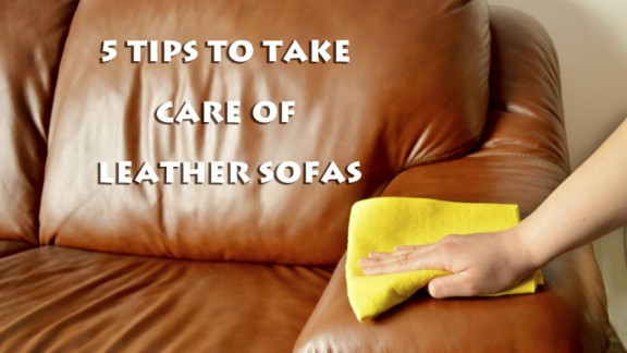 5 Tips to Take Care of Your Leather Sofas 1