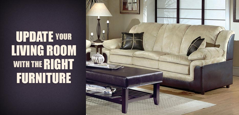 Update your living room with the right furniture for Update living room ideas