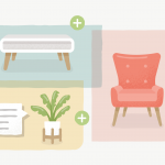 Image of 3 furnitures being added into cart